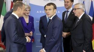 O Presidente francês, Emmanuel Macron, procura consensos no G20
