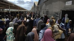 Wani sassanin 'Yan gudun hijra a Somalia