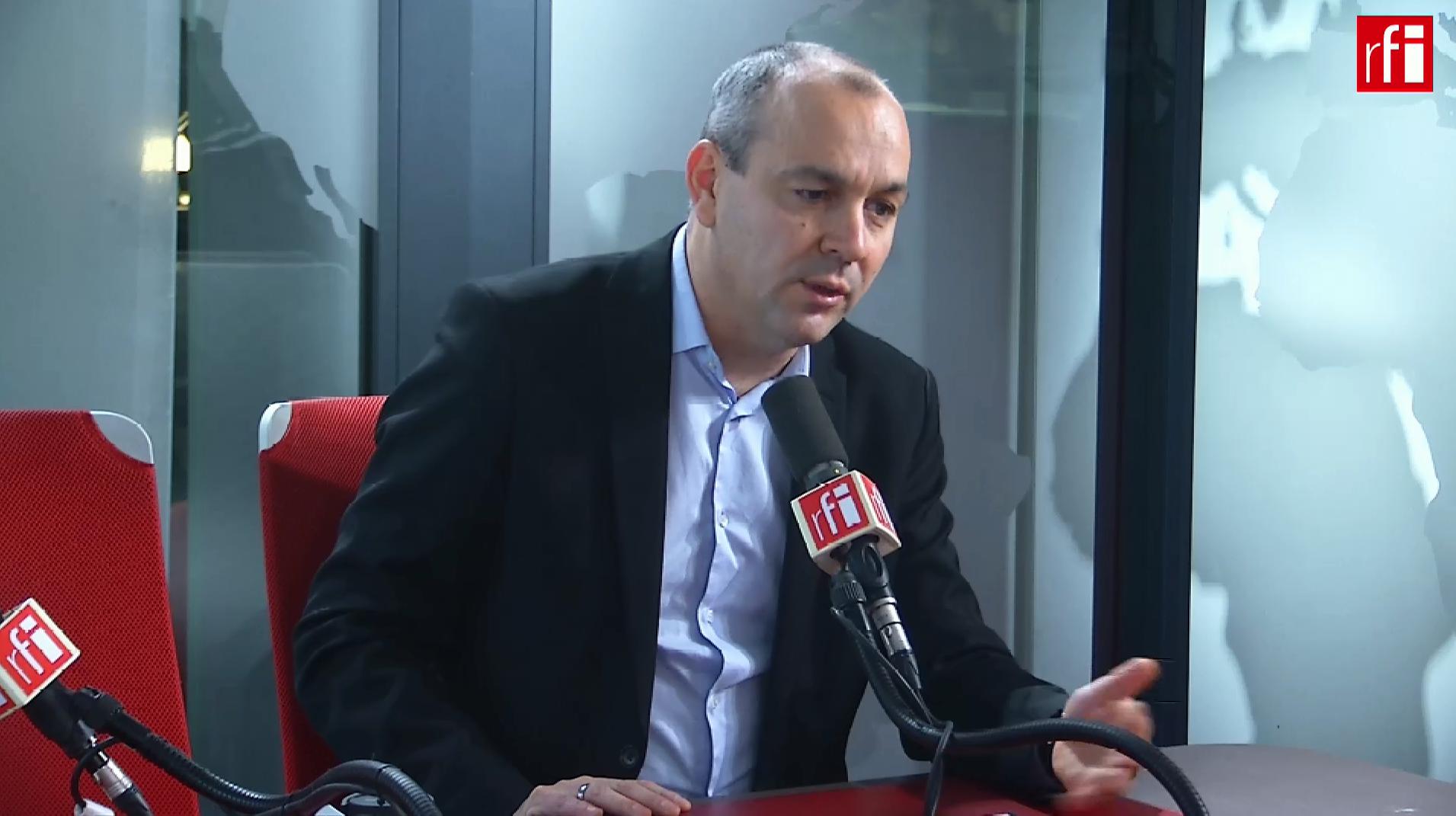 Laurent Berger, secretário geral da CFDT, na RFI a 13 de Dezembro de 2018