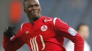 El senegalés Moussa Sow (Lille) es el mejor goleador del campeonato francés.