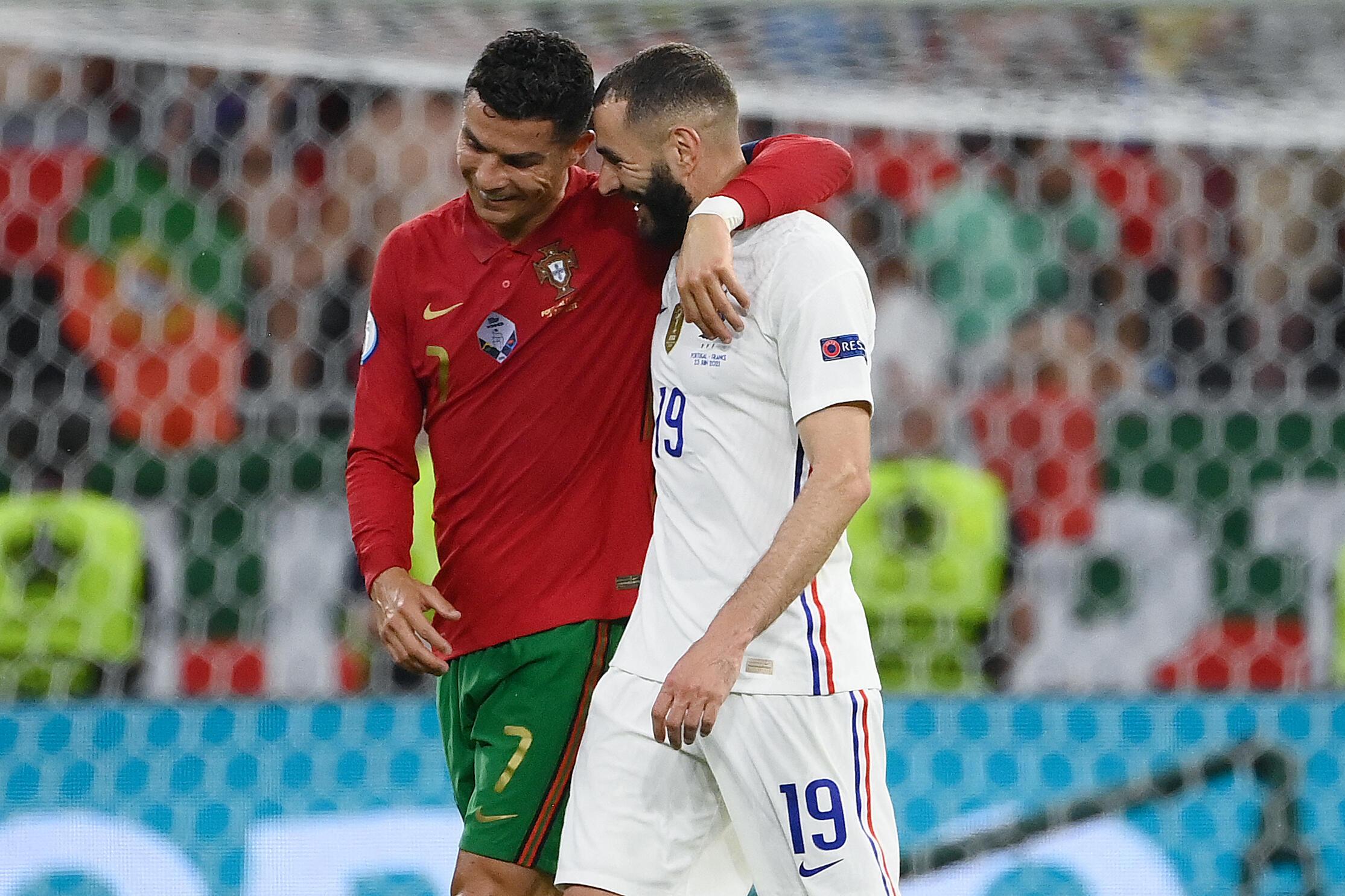 Cristiano Ronaldo - Portugal - UEFA - Euro 2020 - Futebol - Karim Benzema - França - France - Football