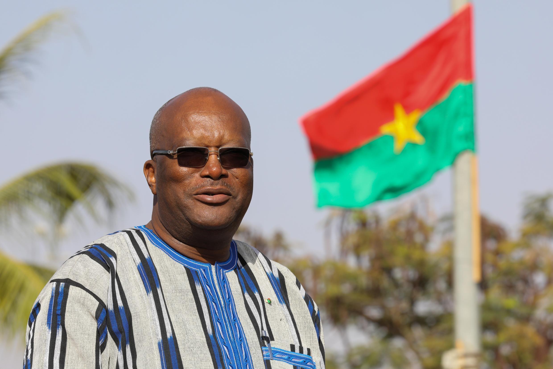 Shugaban Burkina Faso Roch Marc Christian Kaboré, ranar 28 ga watan nuwambar 2017.