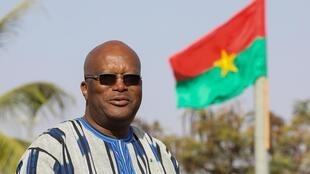 Shufgaban Burkina Faso Roch Marc Christian Kaboré, 28-11-2017.