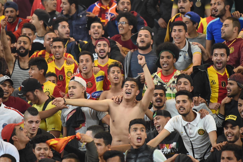 Les supporters de l'Espérance de Tunis, le 31 mai 2019. (Photo d'illustration)