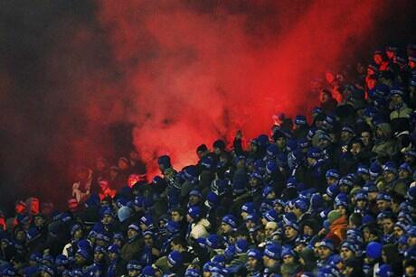 Oitenta torcedores do Dínamo de Zagreb foram presos nesta terça-feira em Paris.