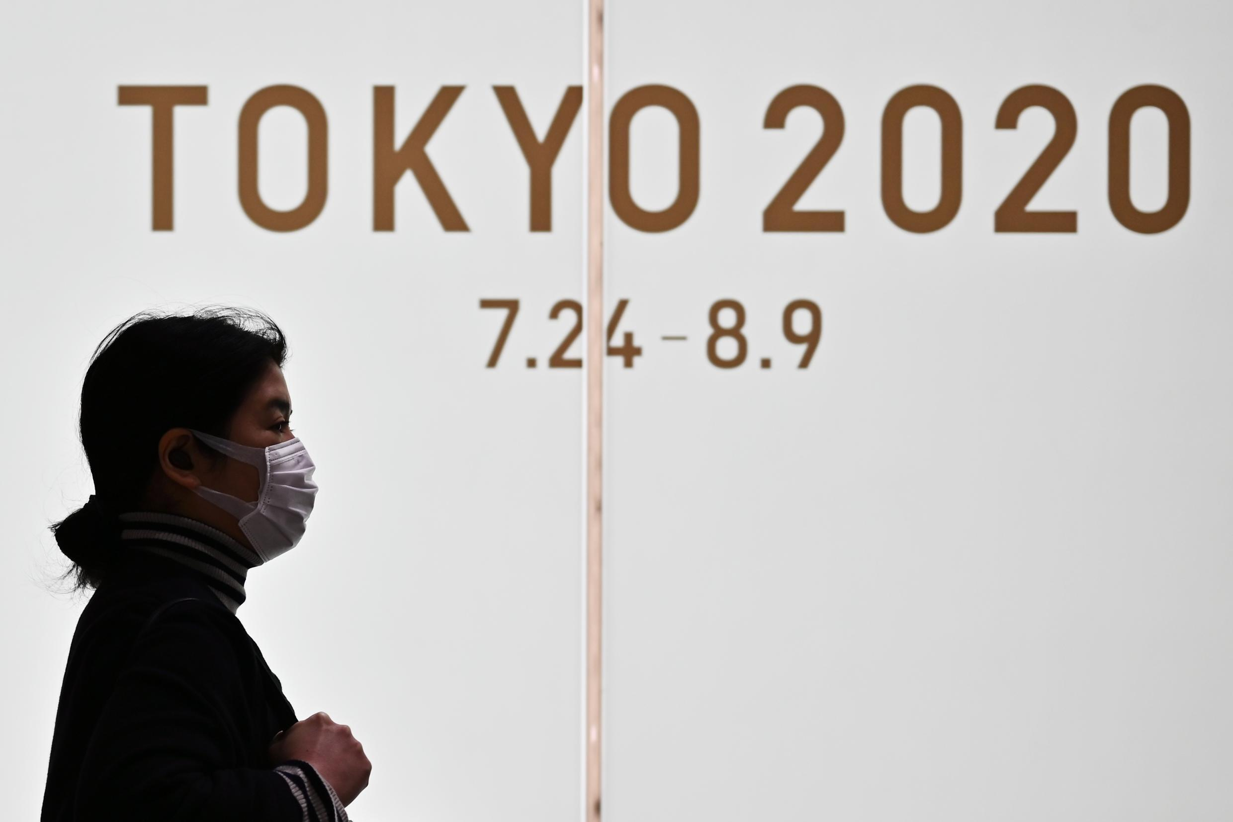 Tokyo's Olympic drive was halted when organisers announced a 12-month postponement of the event due to the coronavirus pandemic.