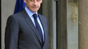 O presidente francês, Nicolas Sarkozy.
