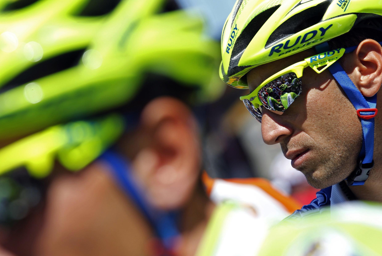 Vincenzo Nibali lors de la 7e étape du Tour de France, le 7 juillet 2012.