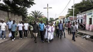 Maandamano ya hivi karibuni jijini Kinshasa dhidi ya rais Joseph Kabila