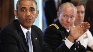 Barack Obama, lors une réunion de hauts responsables militaires et civils à la Maison Blanche, a affirmé que les abus sexuels dans l'armée représentaient une menace pour la sécurité nationale des Etats-Unis.