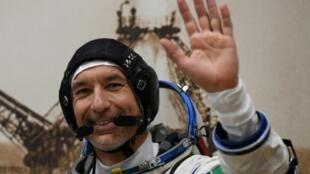El astronauta italiano Luca Parmitano, el 20 de julio de 2019