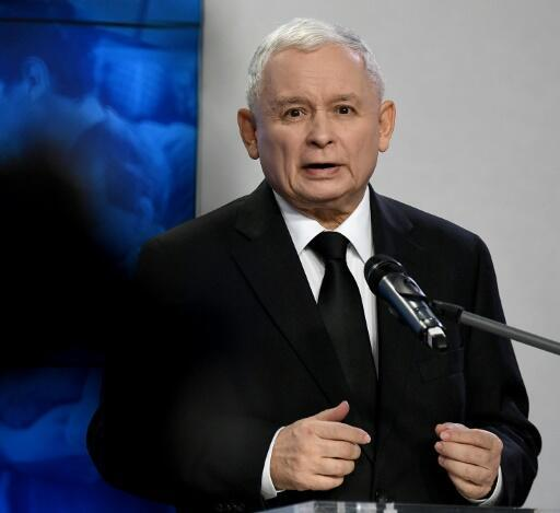 The leader of Poland's ruling party Law and Justice (PiS), Jaroslaw Kaczynski, who left hospital Friday after 37 days amid speculation about his overall health