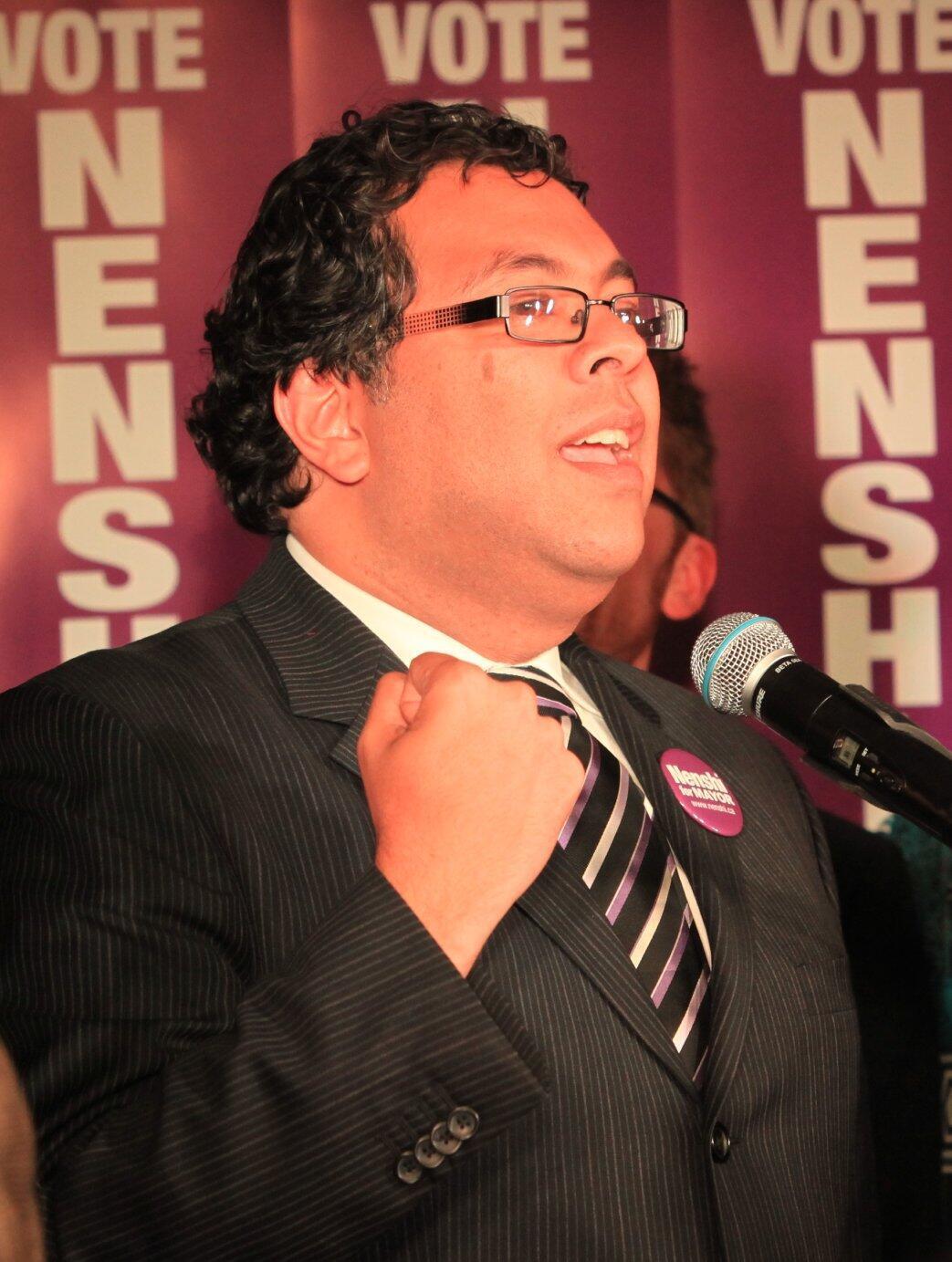 Naheed Nenshi, magajin garin Calgary daya daga cikin manyan birane a karkashin Canada