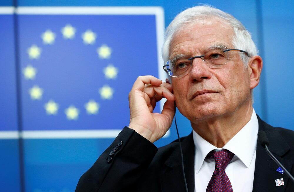 欧盟外交与安全政策高级代表博雷利资料图片