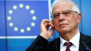 歐盟外交與安全政策高級代表博雷利資料圖片