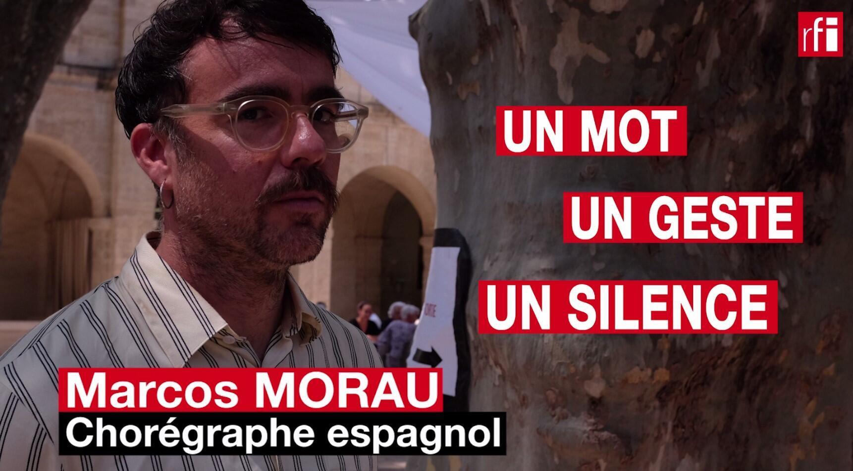 Marcos Morau, chorégraphe de « Sonoma », en un mot, un geste et un silence.