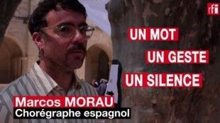 Marcos Morau, chorégraphe de « Sonoma », en un mot, un geste et un silence.  © Siegfried Forster / RFI