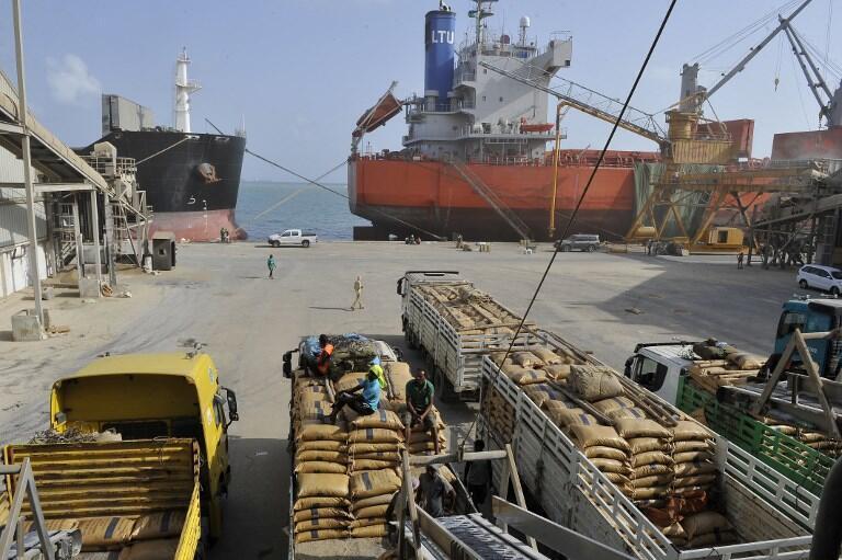 Ảnh minh họa : Cảng  Djibouti, một địa điểm chiến lược trong thương mại với châu Phi.