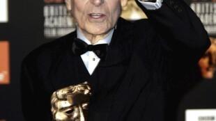 El compositor británico John Barry, el 12 de febrero de 2005.