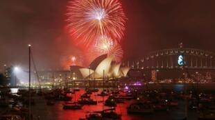 悉尼2015年煙火秀