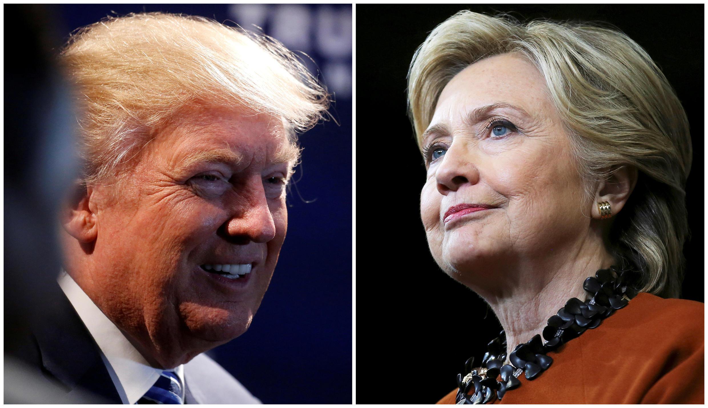 Donald Trump na Hillary Clinton kila moja akiona kuwa ndiye anafaa kwa kuliongoza taifa la Marekani.