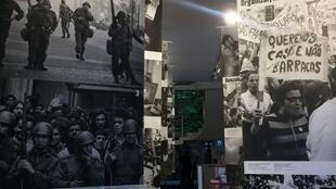 """Exposição """"Revolução e democracia: A memória dos cravos"""", no Espace Pierre Cardin"""