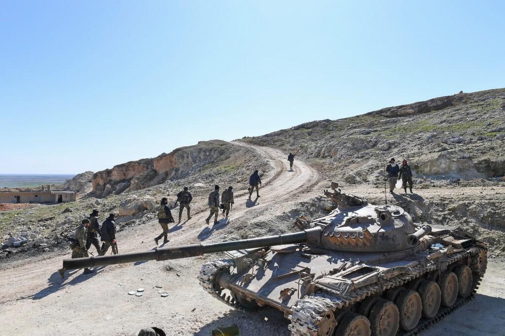 نیروهای سوری در ادلب.