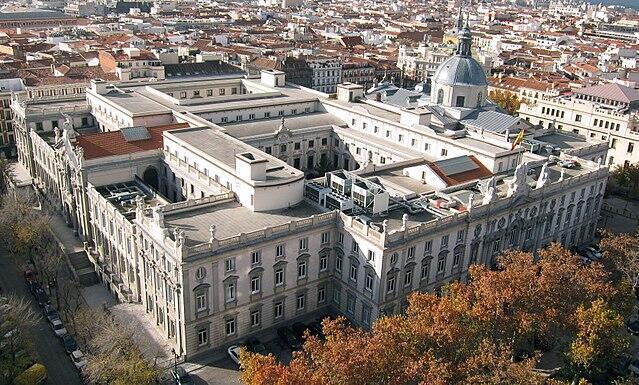 Здание испанского Верховного суда в Мадриде
