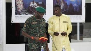Le «jungler» Ismaila Jammeh lors de son audition devant la Commission.