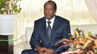 L'ancien président du Burkina Faso, Blaise Compaoré, qui vit exilé en Côte d'Ivoire.