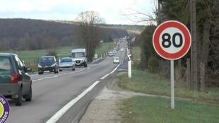 Pendant deux ans la France a testé la limitation à 80 km/h sur plusieurs tronçons de routes à deux voies.