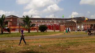 Autour du Campus de l'Université du Libéria à Fendall, les populations riveraines ont été expulsées en 2015.