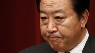 El primer ministro japonés Yoshihiko Noda.