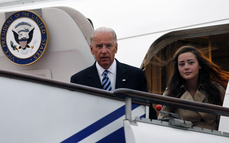Mataimakin Shugaban Amurka Joe Biden da 'yarsa Naomi