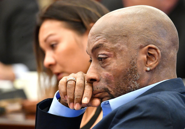 Phiên tòa xửa Monsanto: Ông Dewayne Johnson trong phiên xử ngày 09/07/ 2018 tại San Francisco.