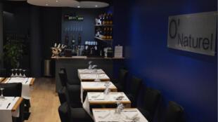 Une vue intérieure du restaurant O'Naturel dans le 12e arrondissement de Paris (capture d'écran).