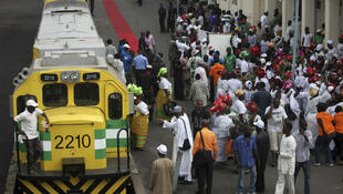 Main railway terminus in Lagos