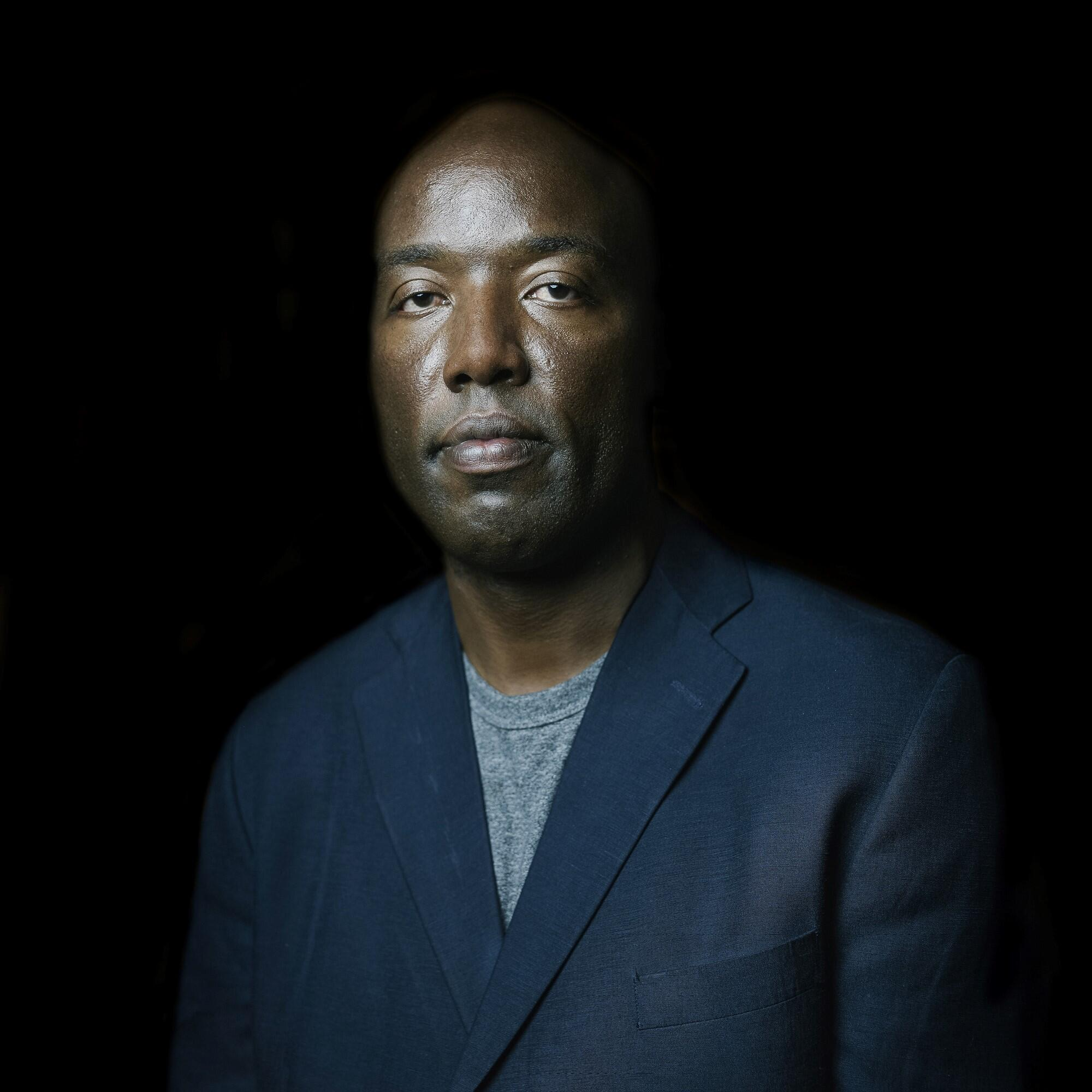 Former death row prisoner and prison reform advocate Pete Ouko was invited by the organisation 'Together Against the Death Penalty' to tell his story, Paris, 9 October 2019