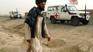 Des véhicules du CICR en Afghanistan (image d'illustration).