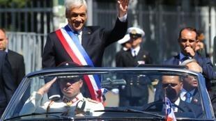 Sebastián Piñera assumiu seu segundo mandato como presidente do Chile em 11 de março de 2018