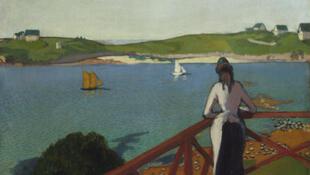 Эмиль Бернар, Полдень в Сен-Бриаке, 1887