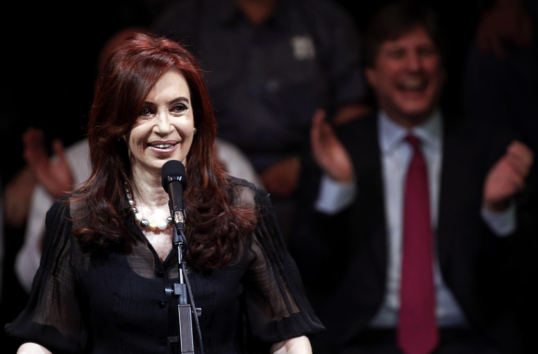 Cristina Kirchner a remporté une victoire confortable à la présidentielle du 23 octobre 2011.