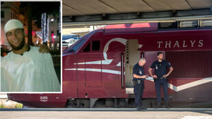 Ayoub El Khazzani, a suspect in the plot to attack teh Amsterdam to PAris Thalys train in 2015