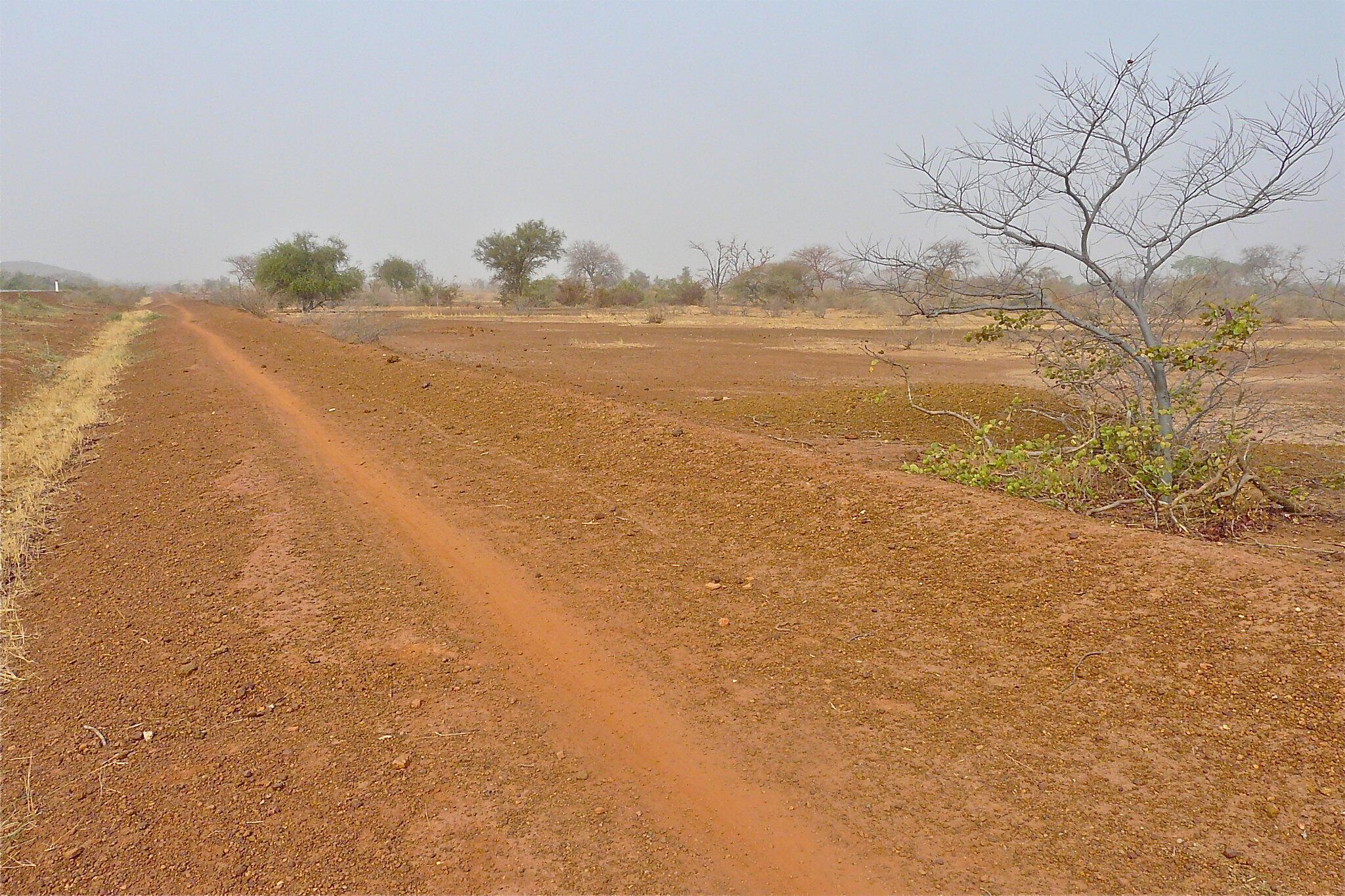 Barabara inayoelekra Pissila (picha ya kumbukumbu).