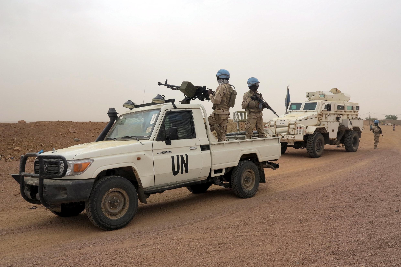 Força de paz da ONU em patrulha no Mali, 23/07/15.