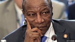 Alpha Condé, Presidente da Guiné Conacri