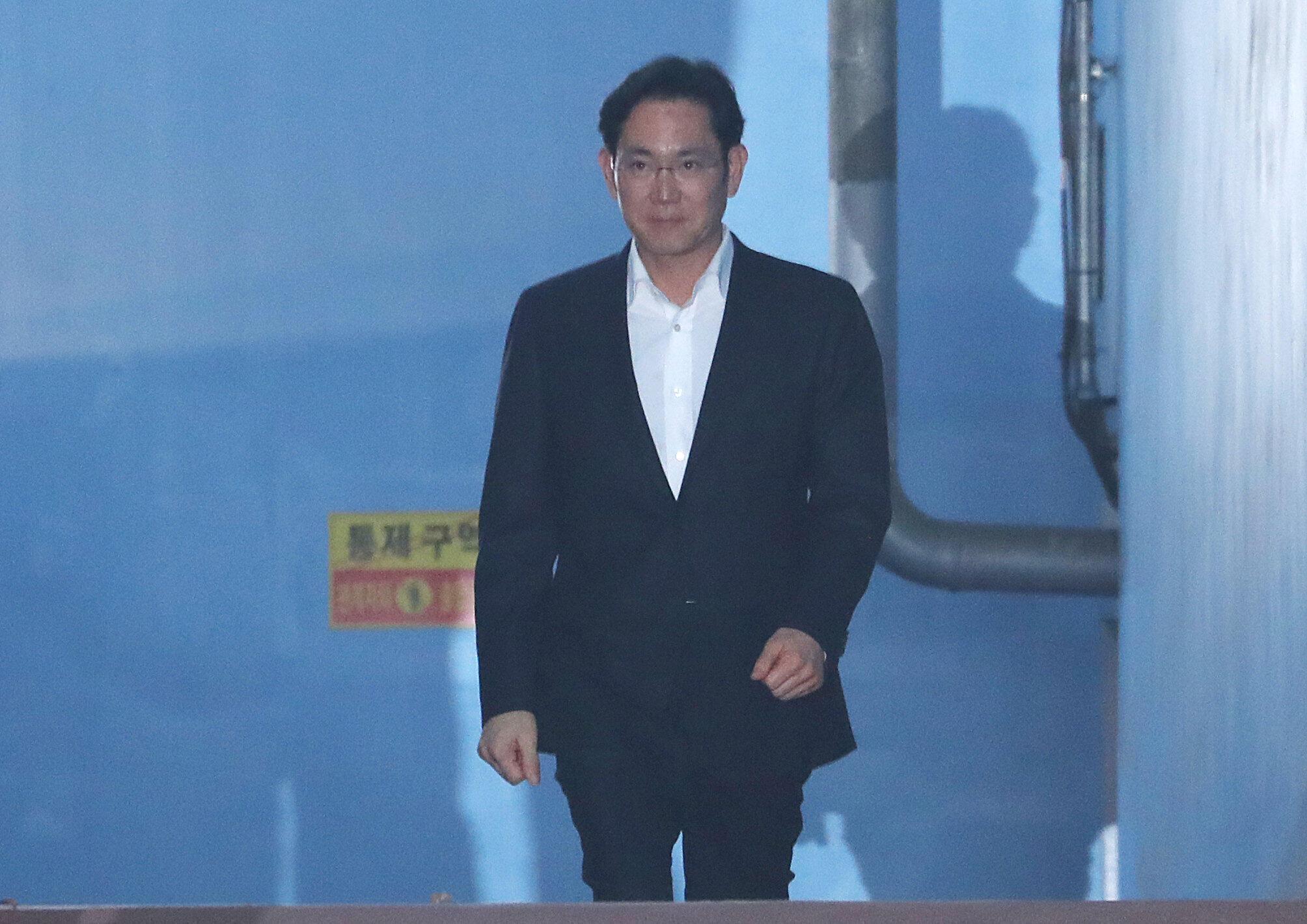 លោក Lee Jae-yong អគ្គនាយករង និងជាកូនប្រុសថៅកែក្រុមហ៊ុន Samsung