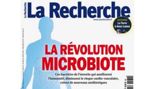 Couverture du magazine «La Recherche».