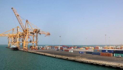Vue du port yéménite d'Hodeïda, sur la mer Rouge (2017).