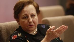 Shirin Ebadi, jueza y abogada, milita por los derechos humanos y la democracia.